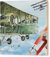 Handley Page 400 Wood Print by Charles Taylor