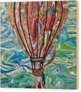 Hang In Theair Wood Print