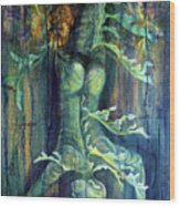 Hanged Man Wood Print