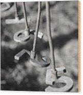 Hanging Brands 7272 Wood Print