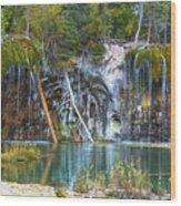 Hanging Lake  Wood Print