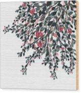 Hanging Leaves IIi Wood Print