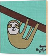 Hanging Out Wood Print