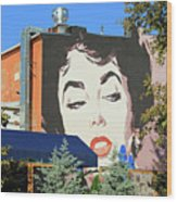Hanging Out With Elizabeth Taylor Wood Print