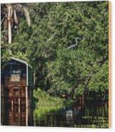 Hanks Roost Wood Print