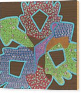 Hanky Panky Wood Print