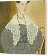 Hannah Fisher Stedman Wood Print