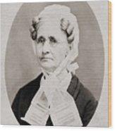 Hannah Simpson Grant 1798-1883, Mother Wood Print