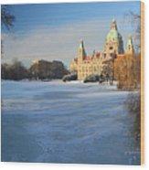 Hanover In Winter Wood Print