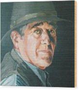 Hans Wood Print
