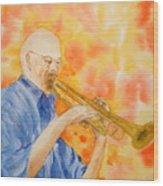 Hanson On Trumpet Wood Print