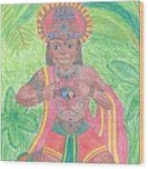 The Bhakta Wood Print