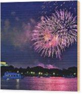 Happy Birthday America # 2 Wood Print