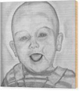 Happy Child Wood Print