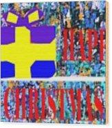 Happy Christmas 88 Wood Print