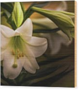 Happy Easter- 2 Wood Print