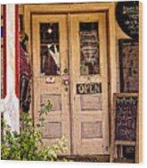 Happy Happie Cottage Haven Wood Print