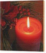 Happy Holidays #1 Wood Print by Teresa Zieba