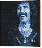 Happy Iommi Blues Wood Print