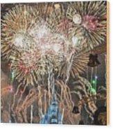 Happy New Year From Walt Disney World Wood Print
