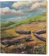 Harbinger Wood Print