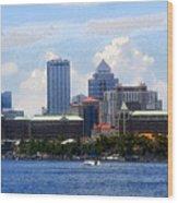 Harbor Island Florida Wood Print