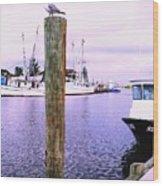 Harbor Master Wood Print