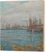 Harbor Of A Thousand Masts Wood Print