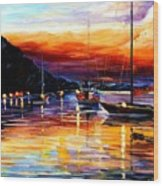 Harbor Of Messina - Sicily Wood Print