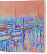 Harbor Sunrise  Eight Am Wood Print