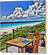 Harbour Island Wood Print
