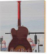 Hard Rock Cafe Nashville Wood Print