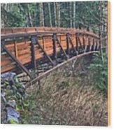 Hardy Creek Bridge Wood Print
