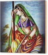 Hare Krishna - Ecstatic Chanting  Wood Print