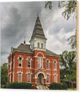 Hargis Hall - Auburn University Wood Print