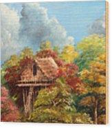 Hariet Wood Print