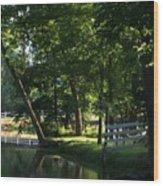 Harlan Springs Wood Print