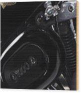 Harley Davidson 1000 Wood Print