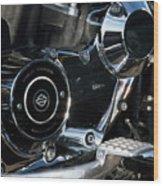 Harley Davidson 17 Wood Print