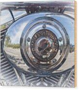 Harley Davidson Motorcycles Art Wood Print