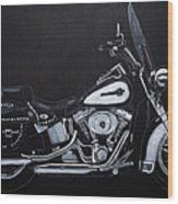 Harley Davidson Snap-on Wood Print