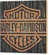 Harley - Davidson Wood Print
