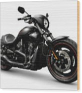 Harley Davidson Vrscd Night Rod Special  Wood Print by Oleksiy Maksymenko