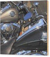 Harley Duo Wood Print