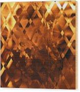 Harley Flame Wood Print
