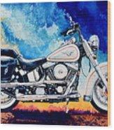 Harley Hog II Wood Print