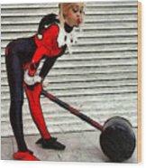 Harley Quinn Classic  - Free Style -  - Da Wood Print