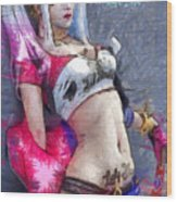 Harley Quinn Waiting For You - Da Wood Print