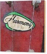 Harmony Uke Wood Print