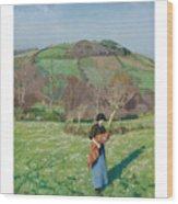Harold Harvey 1874-1941 British Early Spring Wood Print